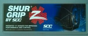 New Scc Shur Grip Sz339 Z style Tire Snow Chains