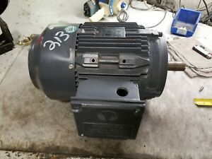 Techtop 5 Hp Electric Ac Motor 230 460 Vac 1745 Rpm 184t Frame 3 Phase 1 1 8