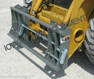 Skid Steer Quick Attach To Alo euro global Quick Attach Adapter
