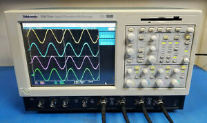Tektronix Tds7104 Digital Oscilloscope Dpo 1 Ghz 10 Gs s Win Xp Ssd