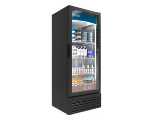 Pro kold Commercial 1 One Door Glass Soda Display Cooler Refrigerator Led Vc 12