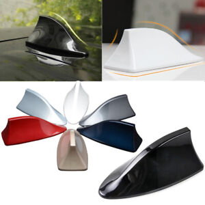 Car Shark Fin Roof Antenna Radio Fm am Decor Aerial For Hyundai Toyota 7 Color