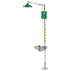 Haws 8309wc Axion Msr Barrier Free Combination Shower And Eye Face Wash Station