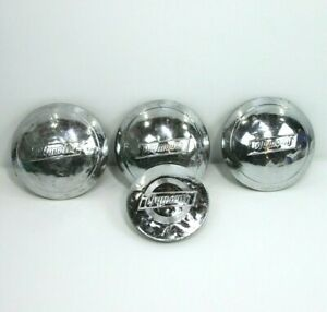 Set Of 4 Vintage Plymouth Hubcaps 3x8 1x6 Approx 1938