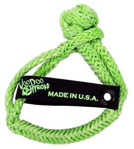 Voodoo Offroad 1500003 Recovery Rope Soft Shackle