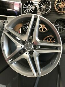 18x8 5 18x9 5 Staggered Grey 5 Spoke Style Wheels For Benz C Class W204 W205