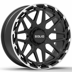 20 Solid Creed Machined 20x12 Forged Concave Wheels Rims Fits Toyota Tundra