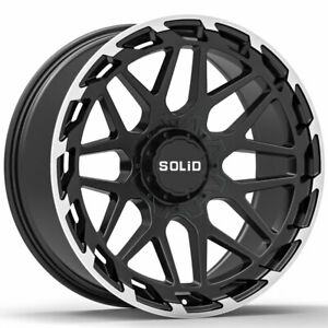 20 Solid Creed Machined 20x9 5 Forged Concave Wheels Rims Fits Jeep Liberty