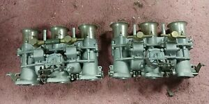 1967 Porsche 911 40 Ida 3c And 3c1 Italian Triple Weber Carberator Set