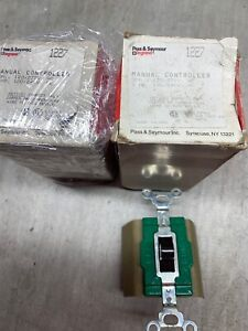 New lot Of 2 Pass Seymour 1227 Manual Switches 30a 120 277v 2hp 120 240v