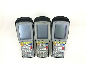 Lot Of 3 Psion Teklogix 7535 G2 Barcode Scanner Mix Of Color And Mono 1d Laser