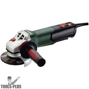 Metabo 600410420 Wp 12 115 Q 4 1 2 1100rpm 10 5amp Angle Grinder New