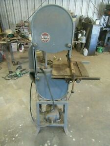 Vintage Delta Rockwell Band Saw Metal Wood Cutting
