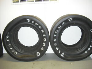 Firestone Drag 500 Slicks 11 5 28 5 15 Gasser Pro Stock Hot Rod