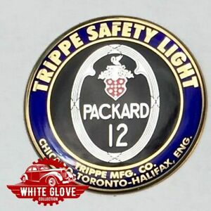 Packard 12 Trippe Light Prestige Badges One Pair 1 5 Inches Adhesive Back
