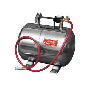 Longacre Racing Products Air Tank Portable 5 Gallons Polished Tire Chuck Kit