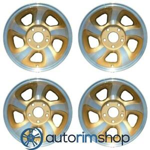 Chevrolet Trailblazer S10 Blazer S10 1998 2004 15 Oem Wheel Rim Set Machined