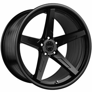 20 Vertini Rfs1 7 Black 20x9 Concave Forged Wheels Rims Fits Audi C6 A6 Quattro