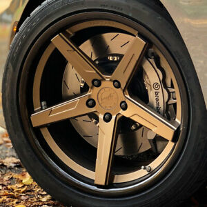20 Vertini Rfs1 7 20x9 20x10 Concave Forged Wheels Rims Fits Ford Mustang