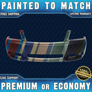 New Painted To Match Front Bumper Cover Replacement For 2008 2010 Dodge Avenger