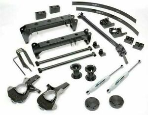 K1144bps Pro Comp 6 Inch Lift Kit 2011 Chevy Silverado 1500 Free Gift Included
