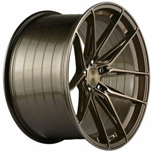 19 Vertini Rfs1 8 Bronze 19x8 5 Forged Concave Wheels Rims Fits Acura Tl