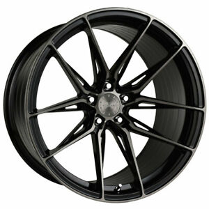 19 Vertini Rfs1 8 Black 19x8 5 Forged Concave Wheels Rims Fits Nissan Maxima