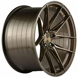 20 Vertini Rfs1 8 Bronze 20x10 20x11 Concave Wheels Rims Fits Dodge Charger