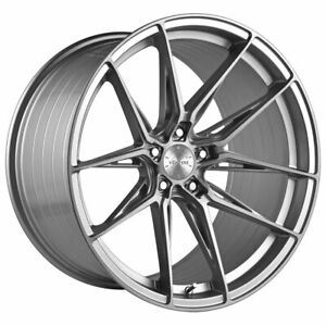 20 Vertini Rfs1 8 Silver 20x9 20x10 5 Concave Wheels Rims Fits Bmw G11 740 750