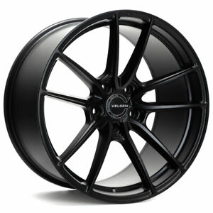 20 Velgen Vf5 Black 20x10 5 Forged Concave Wheels Rims Fits Jeep