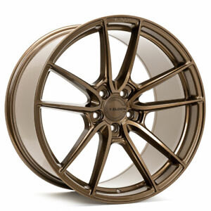 20 Velgen Vf5 Bronze 20x10 20x11 Forged Concave Wheels Rims Fits Ford Mustang