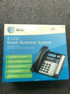New Open Box At t 1040 4 Line Small Business System
