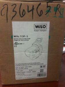 Wilo Top s 2059005 0510 Water Circulating Pump