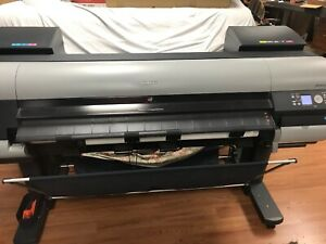 Canon Imageprograf Ipf8000s 48 Large Wide Format Printer Plotter Little Useage