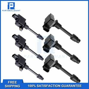 6 Ignition Coil Pack For 2000 2001 Nissan Maxima Infiniti I30 Uf348