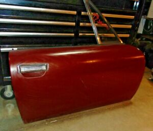 1973 Jensen Healey Roadster Right Door complete Take Off glass latches Etc t2