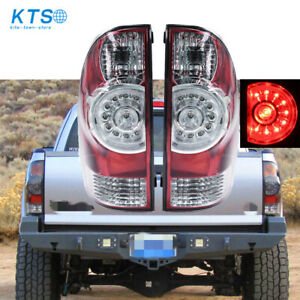 Fits For 2005 2015 Toyota Tacoma Tail Lights Brake Lamps Taillight Aftermarket
