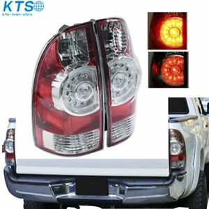 For 2005 2015 Toyota Tacoma Led Tail Brake Lights Replacement 05 15 Left right