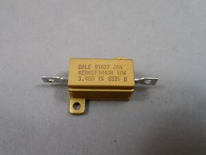 Lot Of 40 Dale Rer65f3r48r Fixed Resistor 10w 3 48 Ohm 91637