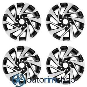 New 16 Replacement Wheels Rims For Honda Civic 2016 2020 Set Machined With B