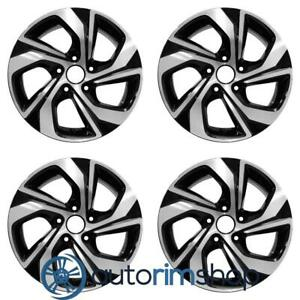 New 16 Replacement Wheels Rims For Honda Accord 2016 2017 Set Machined With
