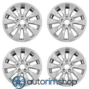 New 17 Replacement Wheels Rims For Honda Accord 2013 2014 2015 Set Silver
