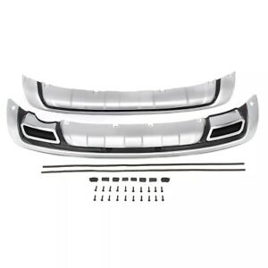 Front And Rear Abs Plastic Bumper Protector Diffuser For Kia Sportage 2010 2014