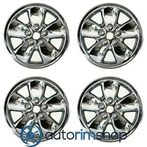 New 20 Replacement Wheels Rims For Dodge Ram 1500 2002 2004 Set Chrome Clad