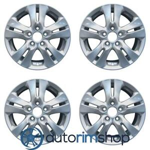 New 16 Replacement Wheels Rims For Honda Accord 2008 2012 Set Bluish Silver