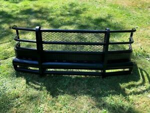 Custom ranch Hand Style Brush Guard Front Bumper Off 88 98 Chevy Gmc