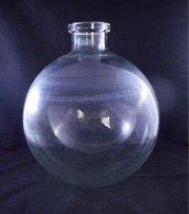 Buchi Glass 20000ml 20l Roto Reaction Spherical Flask Neck Opening 3 75mm Id