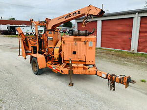 2007 Woodchuck Wc19g Disc Chipper Woodchipper Forestry Tree Chipping Equipment