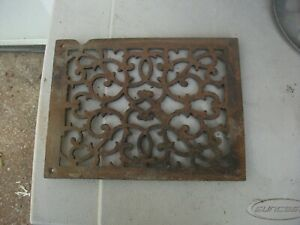 Heat Air Grate Wall Register 11 1 2 X 8 3 4 Fancy Lqqk