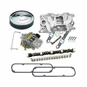 Mopar 318 Weiand 8007 Intake Lunati Cam 670cfm Holly And Air Cleaner Combo